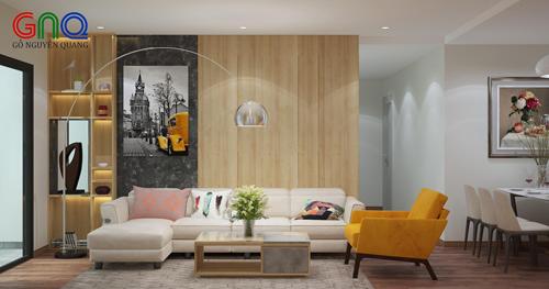 Phong cách thiết kế nội thất hiện đại.