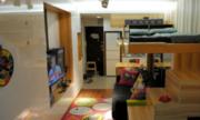 Căn hộ nhỏ hơn chỗ đậu xe nhưng tiện nghi ở Hong Kong
