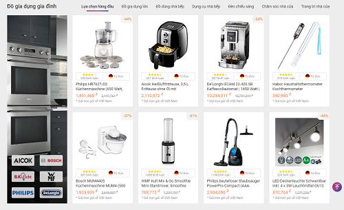 Các sản phẩm khuyến mãi được Fado đề xuất giúp khách hàng dễ dàng mua sắm.