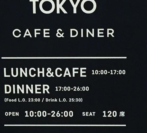 Một ngày có thể có hơn 24 giờ: Khá nhiều biển quảng cáo ở Nhật để con số vượt quá 24giờ phục vụ. Như cửa hàng cà phê này, giờ mở cửa từ 10 giờ sáng tới 26 giờ (2 giờ sáng).