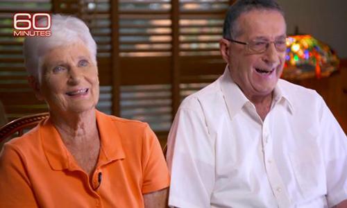 Ông Jerry giúp cho tuổi già hai vợ chồng khá giả và còn nuôi các cháu ăn học nhờ bẻ khóa xổ số. Ảnh: CBS.