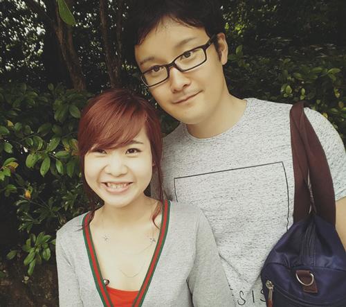 Mỹ Tiên và Masayuki quen nhau khi cùng học một trường chuyên dạy tiếng Anh ở Philippines.