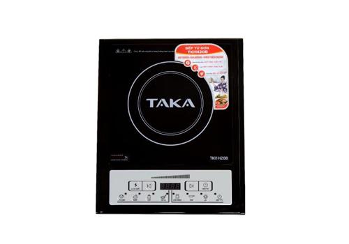 Duy nhất trong khung giờ 10-11h ngày 27/2, bếp từ đơn Taka TKI1H20Bđược bán giá499.000 đồng. Có mâm từ bằng đồng và ốp nhựa PP bên ngoài, bếpcó đến 7 chức năng nấu và 8 mức điều chỉnh công suất, có thể tự động tắt khi không có nồi.Giá gốc: 999.000 đồng.