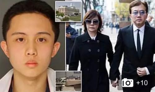 Con trai của nữ diễn viên Di An bị bắt giữ vì dùng súng đe dọa trong khuôn viên trường, một phần do cách giáo dục khắc nghiệt của cha mẹ. Ảnh: Sina.