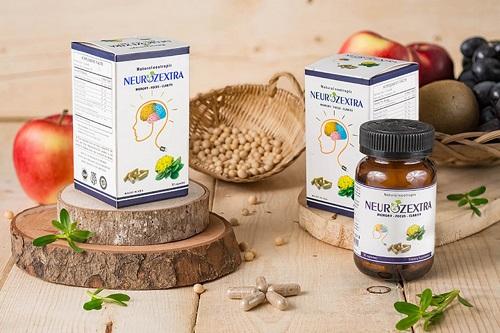 Neurozextra được sản xuất tại Mỹ và phân phối độc quyền tại Việt Nam. Sản phẩm còn 900.000 đồng tại Shop VnExpress (giá gốc 1,32 triệu đồng). Sản phẩm này không phải là thuốc và không có tác dụng thay thế thuốc chữa bệnh. Cục An toàn thực phẩm, Bộ Y tế cấp cấp giấy phép quảng cáo số 00558/2018/ATTP-XNQC ngày 31/5/2018 cho thực phẩm bảo vệ sức khỏe Neurozextra.