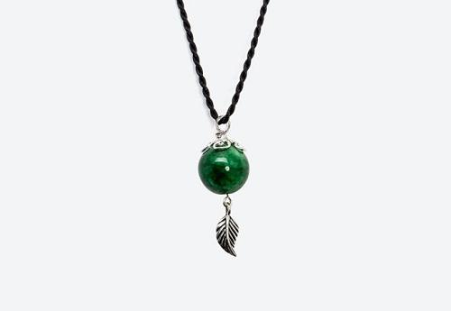 Mặt dây chuyền đá cẩm thạch phong thuỷ có giá 263.00 đồng.