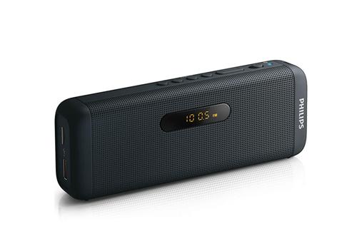 Loa bluetooth Philips SD700B trang bị công nghệ truyền nhạc không dây qua bluetooth,dễ dàng kết nối với nhiều thiết bị. Khe đọc thẻ giúp phát nhạc từ USB hoặc microSD. Loa còn có thêm đài FM kỹ thuật số, cung cấp thêm nhiều lựa chọn thông tin với chất lượng âm thanh rõ ràng.Giắc cắm tai nghe stereo giúpthưởng thức âm nhạc cá nhân tốt hơn. Loa được giảm còn970.000 đồng(giá gốc 1,999 triệu đồng).