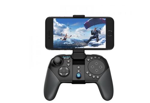 Tay cầm chơi game Bluetooth GameSir G5 là bộ điều khiển cho cáctrò chơi di động MOBA hay các thể loại game bắn súng, đối kháng... Ưu điểm của thiết bị làkhả năng xoay chiêu nhạy, gắn được bàn phím và chuột. GameSir G5giúp kiểm soát các thao tác dễ dàng, thiết kế với 8 nút, bộ kích hoạt cơ linh động, tổng thểgọn nhẹ. Người dùng của Shop VnExpress có thể sở hữu tay cầm chơi game này với giá 1,299 triệu đồng (giá gốc 1,99 triệu đồng)duy nhất trong ngày hôm nay.