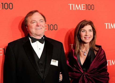 Hai vợ chồng tỷ phú Harold và Sue Ann Hamm khi còn mặn nồng. Ảnh: Celebrity Net Worth