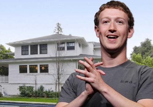 Ngôi nhà trị giá 7 triệu đôla của ông chủ Facebook. Ảnh: Business Insider.