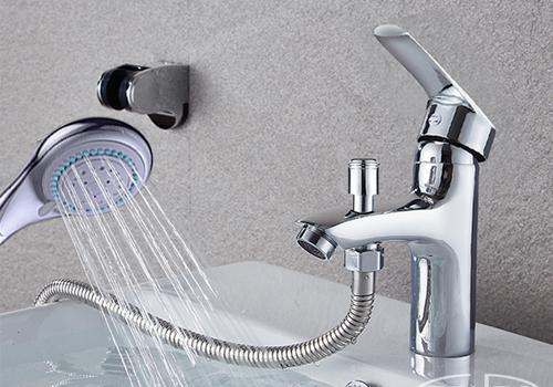 Bộ vòi chậu lavabo kết hợp sen tắm nóng lạnh ZT2045 765.000 đồng (giá gốc 950.000 đồng): Bộ sản phẩm gồm: 1 vòi nước, 2 dây cấp, 1 tay sen, 1 dây dẫn & 1 đế cài được làm từ hợp kim đồng, mạ Nickel và Chrome - Thiết kế hiện đại, tiện dụng thích hợp với các phòng tắm có diện tích nhỏ. - Tay sen có bề mặt rộng cùng 5 chế độ phun nước khác nhau với cần gạt dễ dàng thao tác - Vòi nước được thiết kế sang trọng, đẹp mắt người dùng có thể dễ dàng chuyển đổi chế độ tắm sen sang xả nước hay từ nước nóng sang lạnh một cách đơn giản, tiện lợi. - Đầu vòi xả có lưới tạo bọt khí tránh bắn & cực kỳ tiết kiệm nước - Dây dẫn nước dài không xoắn tiện lợi khi sử dụng