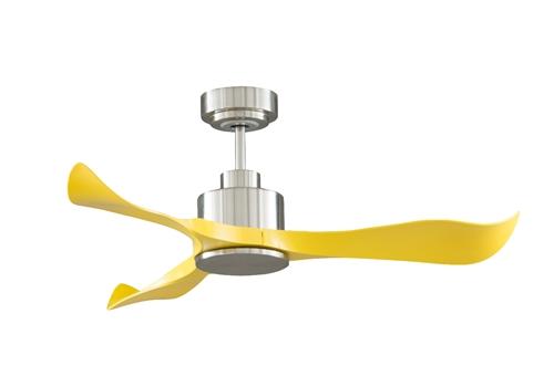 Quạt trần Royal Slice (màu vàng) 6.174.000đ6.860.000 Phong cách: Hiện đại  Lắp Đặt: Phòng khách, phòng làm việc, Nhà hàng, khách sạn ; Phòng có diện tích dưới 20m2  Cánh quạt: Quạt có 3 cánh làm bằng nhựa ABS, 3 cánh quạt có thiết kế khoét vạt từ dưới lên, mũi cuối cánh quạt hất lên tạo cảm giác Mạnh mẽ, hiện đại