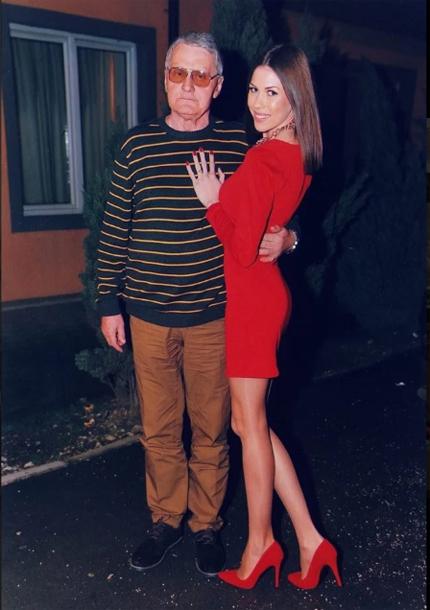 Cô gáiMilijanaBogdanovic là hàng xóm với ôngMilojko