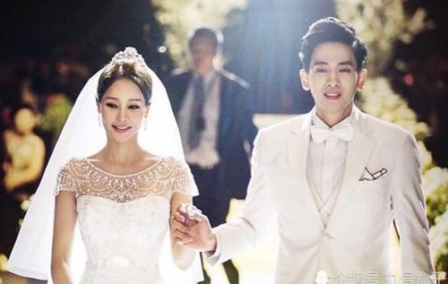 Cả hai tổ chức đám cưới tháng 7/2018 nhưng sau 9 tháng vẫn chưa có em bé. Ảnh: Wenxuacity.