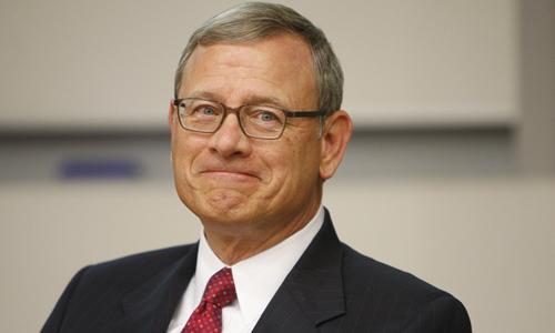 John Roberts hiện là chánh án Tòa án tối cao Mỹ. Ảnh: Wiki.