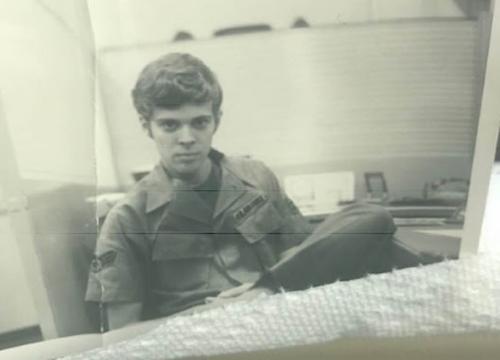 Ông Frederick Ashley năm 1970 tại Sài Gòn.