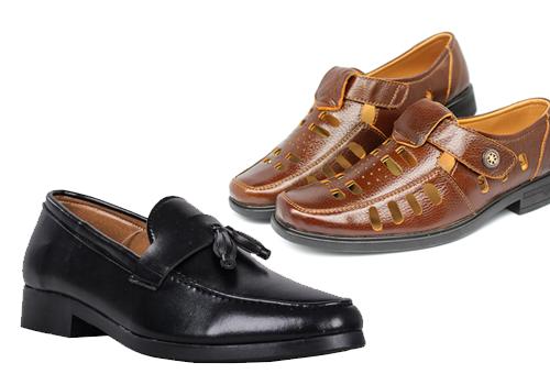 Giày mọi nam công sở từ thương hiệu Rozalo, Zapas giá từ 149.000 đồng. Giày đa dạng kiểu dáng, màu sắc, phù hợp cho nam giới với nhiêu độ tuổi khác nhau.