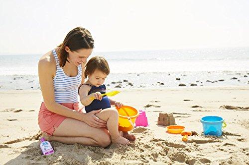 Kem chống nắng giúp trẻ chống tia cực tím khi hoạt động ngoài trời.