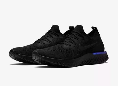 Giày thể thao chính hãng Nike Epic React Flyknit AQ0067-004 màu đen có trọng lượng nhẹ, khả năng phản hồi nhanh, độ bền bỉ cao. Phần thân giày làm bằng flyknit nguyên khối mềm mại, thoải mái, cho đôi chân cảm giác như bước đi trên lò xo và đệm mút. Giá 2,781 triệu đồng (gốc 4,55 triệu đồng).