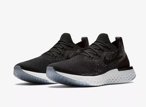 Giày Nike Epic React Flyknit AQ0067-001 sử dụng bộ đệm React êm nhẹ, cân bằng và hoàn trả lực tốt. Phần thân giày liền mạch bằng chất liệu Flyknit, hỗ trợ cho bộ đệm React là phần đế ngoài cao  su ở dưới gót và mũi chân. Giá 2,781 triệu đồng (gốc 4,550 triệu đồng)