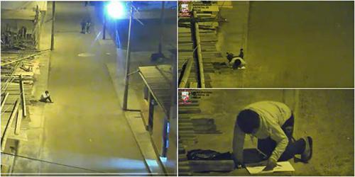 Hình ảnh của Victor được trích xuất từ camera an ninh. Ảnh: Oddity Central.