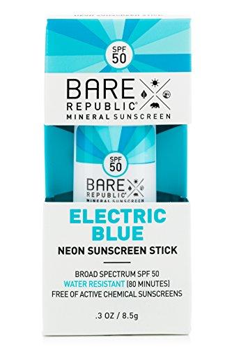Bare Republic SPF 50 Mineral Shimmer Sunscreen Sticks: Với thiết kế độc đáo cùng màu sắc neon thu hút, kem là lựa chọn cho những quý cô yêu thích sự rực rỡ và nổi bật từ những thứ đơn giản nhất. Sản phẩm có nhiều màu sắc đẹp cùng những phiên bản với thiết kế khác biệt, bạn có thể tham khảo sản phẩm này tại đây.