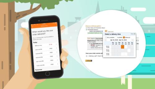 Đặt lịch chuyển phát với Amazon Day để nhận hàng nhanh chóng và thuận tiện hơn.