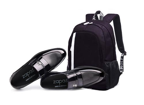 Giày lười nam thời trangGiày lười nam thời trang Zapas GT004 - Tặng balo du lịch Glado BLL014BA