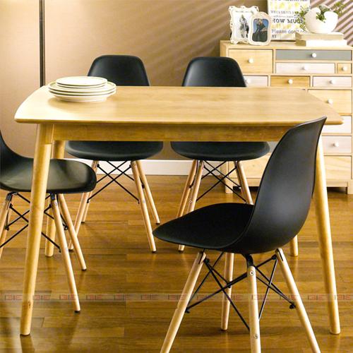Bộ bàn ăn 4 ghế IBIE Sarah màu đen 3.710.700đ6.140.000đ