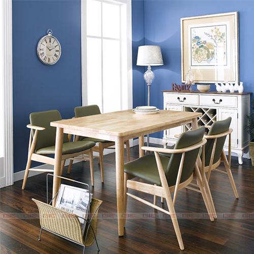 Bộ bàn ăn 4 ghế IBIE Tores màu tự nhiên 5.570.700đ9.220.000đ