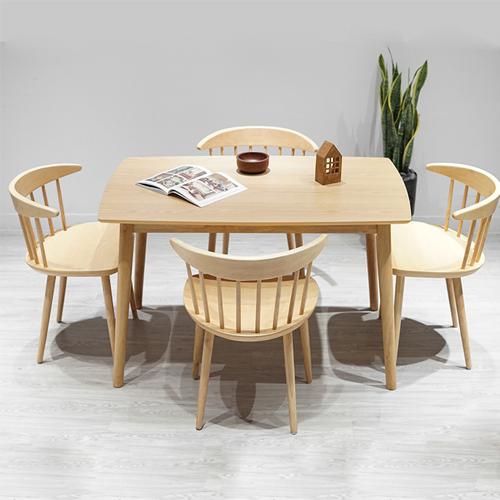 Bộ bàn ăn Lyla 4 ghế màu tự nhiên 5.570.700đ9.220.000đ