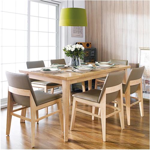Bộ bàn ăn Zodax màu tự nhiên 6 ghế - Nâu 6.128.700đ10.140.000đ