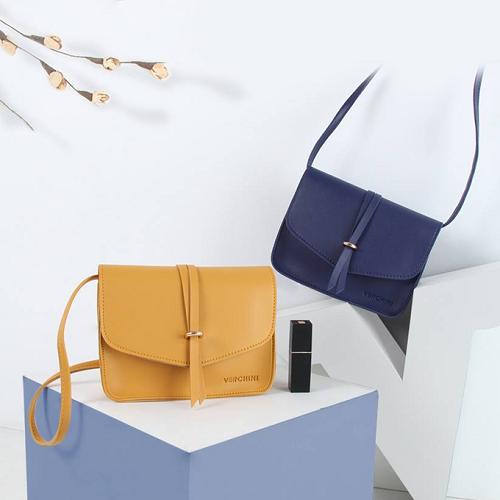 Túi thời trang Verchini màu vàng 13000482 giá 99.000 đồng, chất liệu da tổng hợp, độ bền lâu. Dây đeo có thể dễ dàng thay đổi độ dài cho phù hợp với mỗi người.