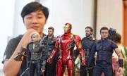 Bộ sưu tập mô hình siêu anh hùng Marvel hiếm có của 9x Hà Nội