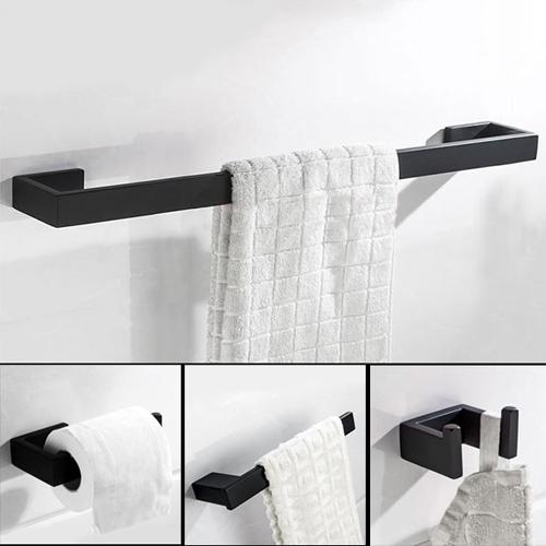 Bộ 4 phụ kiện nhà tắm inox 304 HC6850 giá 1.399.000 đồng
