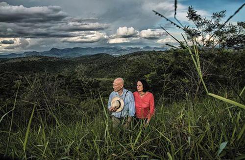 Sau 2thập kỷ, không chỉ bang Minas Gerais mà nhiều bang lân cận cũng được vợ chồng Salgado phủ xanh. Ảnh: The Guardian.