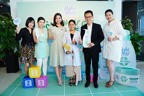 Đại diện nhãn hàng tại buổi hội thảo ra mắt sản phẩm Babi Mild.