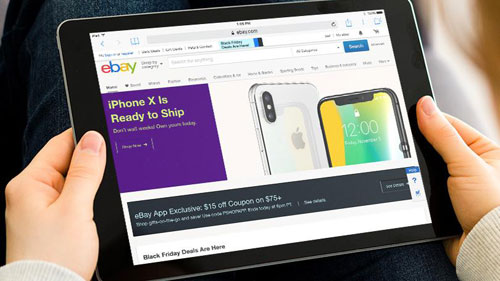 Người tiêu dùng có thể dễ dàng mua và bán các sản phẩm trên eBay.
