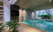 Bể bơi trong nhà ống Sài Gòn rộng 70m2