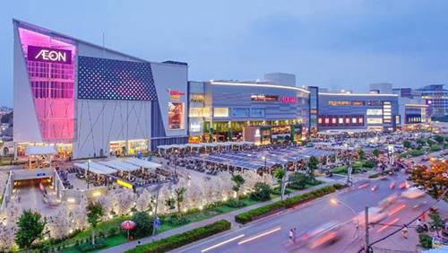 Đại siêu thị Aeon Mall Hà Đông dự kiến bắt đầu hoạt động từ cuối năm 2019