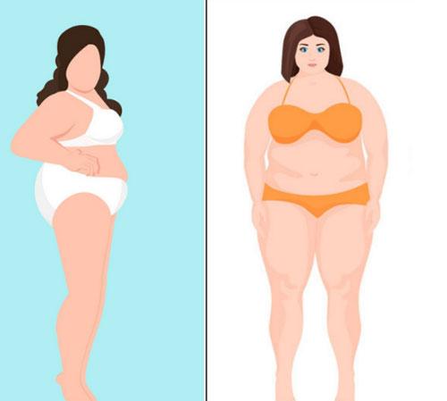 Cô nàng có thân hình tròn trịa thường khá e dè khi mặc bikini.