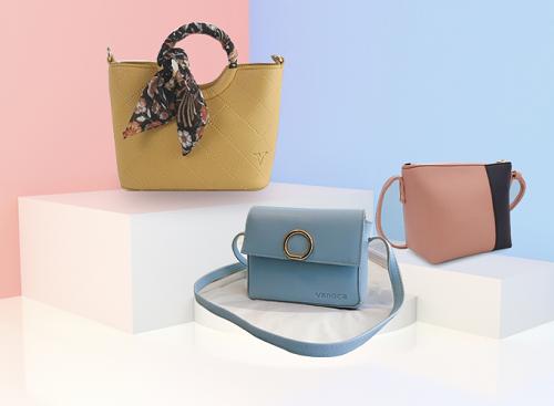 Shop VnExpress miễn phí vận chuyển nhiều mặt hàng thời trang cho bạn gái như túi xách thời trang Verchini, Vanoca, Idigo.