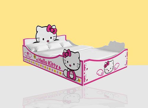 Giường Hello kitty (1m2)