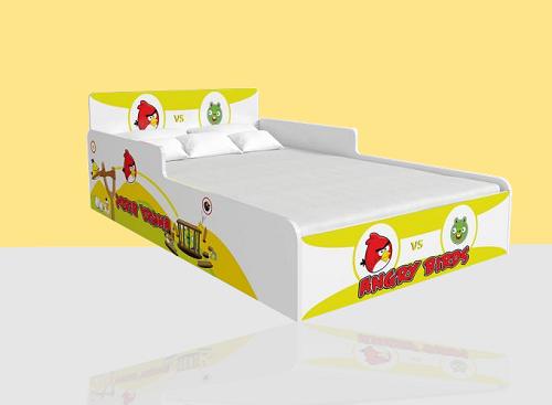 Giường đơn Angrybird (1m2)