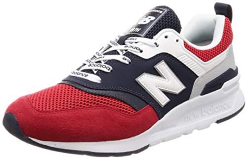 GiàySneaker CM997Hlàm từ chất liệu da mềm, giảm 30%, từ 2,98 triệu đồng còn 2,085 triệu đồng. Ngoài giày nam, hiện tại, New Balance cũng giảm giá nhiều kiểu giày nữ, trẻ em với mẫu mã đa dạng, bắt mắt.