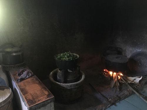 Bếp của ngoại