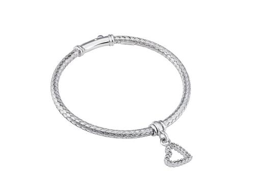 Vòng tay bạc Ý đính đá PNJSilver XMXMK060002
