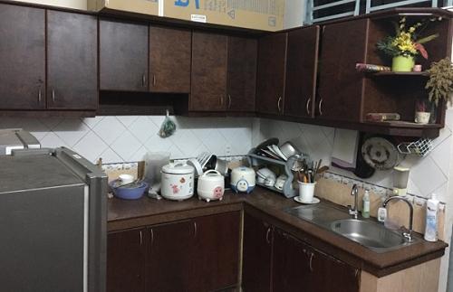 Tôi muốn xây mới lại căn bếp cũ đã xuống cấp để mẹ có không gian tiện nghi chuẩn bị bữa cơmgia đình.
