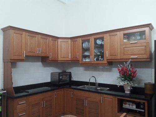 Tôi thích những căn bếp thoáng gió sạch sẽ và có ánh sáng tự nhiên để là nơi mẹ có thể đứng nấu từng món ngon cho gia đình thưởng thức.