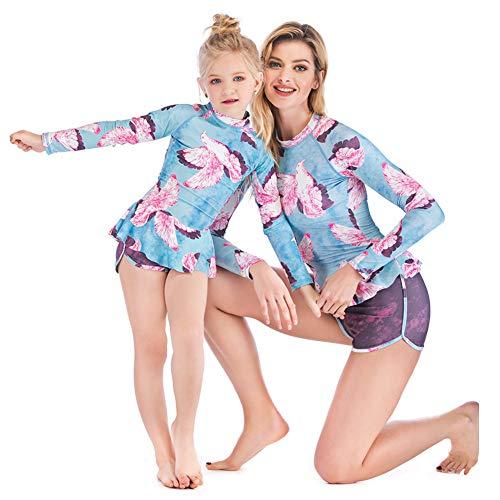 Áo tắm đôi cho mẹ và con gái đi biển ngày hè  - 8